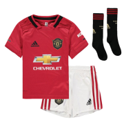 Kids Manchester United Home 2019-20 Soccer Kit(Jersey+Shorts)