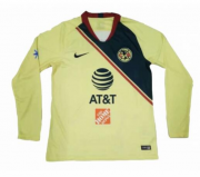 2018-19 CLUB AMERICA LONG SLEEVE HOME SOCCER JERSEY SHIRT