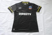 Colo-Colo Jersey 2016/17 Away Black Soccer Shirt