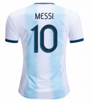 2019 ARGENTINA HOME MESSI #10 SOCCER JERSEY SHIRT