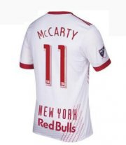 Red Bull Jersey 2017/18 Home Soccer Shirt Jersey #11 Mccarty