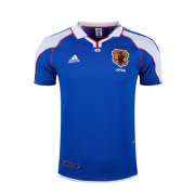 2000 Japan Retro Blue Soccer Jersey