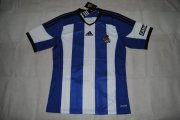 Real Sociedad Jersey 2014/15 Home Soccer Shirt