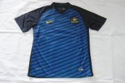 Australia Jerseys 2016-17 Away Blue Soccer Shirt