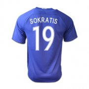 Greece Jerseys 2016/17 Away Soccer Shirt #19 Sokratis
