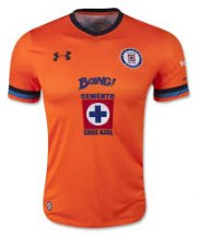 Cruz Azul Jersey 2015/16 Away Orange Soccer Shirt