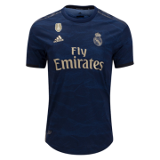 Real Madrid Women Jersey 2019-20 Away Navy Soccer Shirt