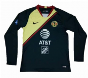 2018-19 CLUB AMERICA LONG SLEEVE AWAY SOCCER JERSEY SHIRT
