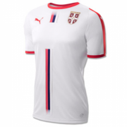 Serbia 2018 World Cup Away Soccer Jersey