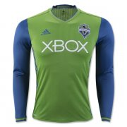 Seattle Sounders Jersey 2016/17 Home LS Soccer Shirt