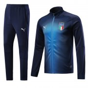 Italy Jersey 2018-19 Dark Blue World Soccer Jacket Uniform
