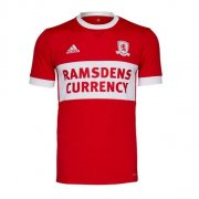 Middlesbrough Jersey 2017/18 Home Soccer Shirt Jersey