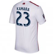 New England Revolution 2017/18 Away Soccer Jerseys #23 Kamara