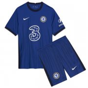 Chelsea 20-21 Kids Home Blue Soccer Kits (Jersey+shorts)