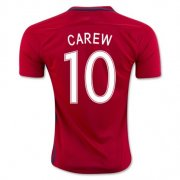 Norway Jersey 2016/17 Home Soccer Shirt #10 Carew