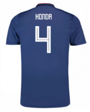 Japan Jersey 2018-19 Home Soccer Shirts #4 Honda