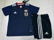 Japan Jersey 2018-19 Home Soccer Kids Kit