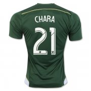 Portland Timbers Jersey 2016/17 Home Soccer Shirt #21 CHARA