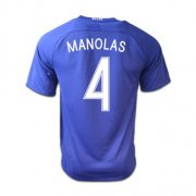 Greece Jerseys 2016/17 Away Soccer Shirt #4 Manolas