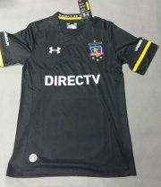 Colo-Colo Jersey 2015/16 Away Black Soccer Shirt