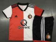 Kids Feyenoord 2018/19 Home Soccer Kit (Jersey+Shorts)