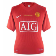 Manchester United 2008 Home Retro Soccer Jersey Shirt