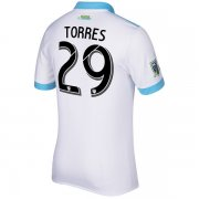 Seattle Sounders Jersey 2017/18 Away Soccer Shirt #29 Torres