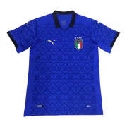 Italy Jersey 2020 Home Blue Soccer Jersey Shirt