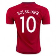 Norway Jersey 2016/17 Home Soccer Shirt #10 Solskjaer