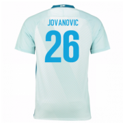 Zenit St.Petersburg Jersey 2016/17 Away Soccer Jerseys #26 Jovanovic