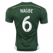 Portland Timbers Jersey 2016/17 Home Soccer Shirt #6 NAGBE
