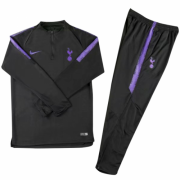 Youth 18-19 Tottenham Hotspur Black Training Tracksuit