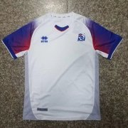 Iceland Jersey 2018 World Cup White Soccer Shirt