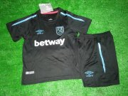 West ham Jersey 2017/18 Away Soccer Kids Kit