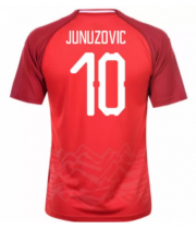 Austria Jerseys 2018-19 Home Soccer Shirt #10 Junuzovic