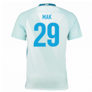 Zenit St.Petersburg Jersey 2016/17 Away Soccer Jerseys #29 Mak