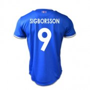 Iceland Jersey 2016/17 Home Soccer Shirt #9 Sigborsson