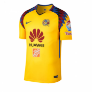 2018-19 CLUB AMERICA THIRD AWAY YELLOW SOCCER JERSEY SHIRT