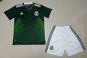 Mexico 2018/19 Home Soccer Kids Kit