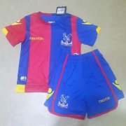 Crystal Palace Youth Jersey 2015/16 Home Soccer Shirt Kids Kit