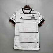 20-21 Germany Soccer Jersey 2021 Euro Home White Soccer Shirt