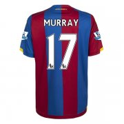 Crystal Palace Jersey 2015/16 Home Soccer Shirt Jersey #17 Murray