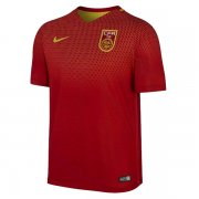 China Jersey 2016/17 Home Red Soccer Shirt