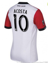 DC United 2017/18 Home Soccer Shirt Jersey #10 ACOSTA