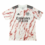 20-21 Arsenal Away White Soccer Jersey Shirt